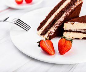 Good-tasting dessert tiramisu Stock Photo 03