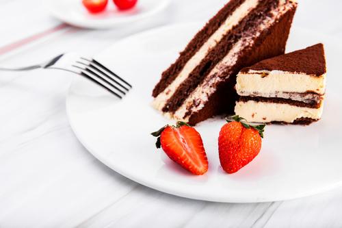 Good tasting dessert tiramisu Stock Photo 03