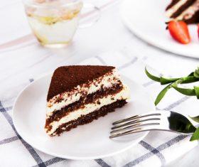 Good-tasting dessert tiramisu Stock Photo 04