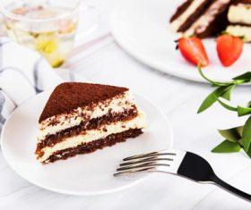 Good-tasting dessert tiramisu Stock Photo 05