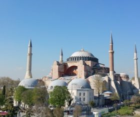 Hagia Sophia Istanbul Turkey Stock Photo 02