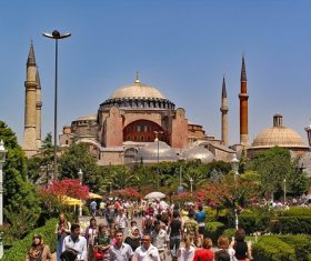 Hagia Sophia Istanbul Turkey Stock Photo 07