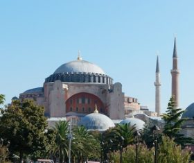 Hagia Sophia Istanbul Turkey Stock Photo 08
