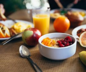 Hearty and nutritious breakfast Stock Photo 05