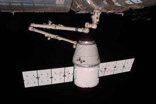 High tech artificial satellite Stock Photo 06
