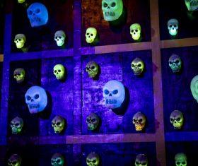 Horrible Halloween atmosphere Stock Photo 02