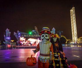 Horrible Halloween atmosphere Stock Photo 04
