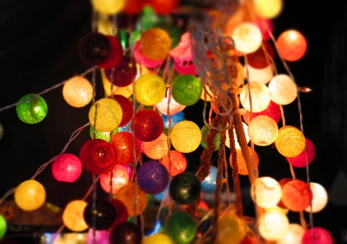 In all kinds of colors lantern Stock Photo 08