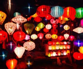 In all kinds of colors lantern Stock Photo 11