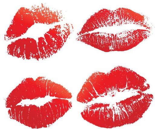 Kiss Elements graphic vectors