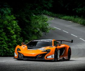 McLaren McLaren 650S GT3 sports car Stock Photo 03