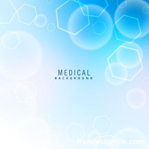 medical science background design vectors 04 free download