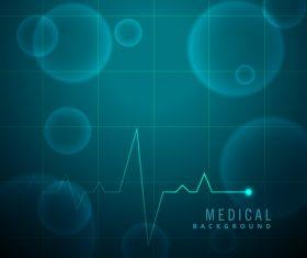 Medical science background design vectors 08