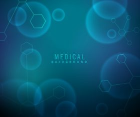 Medical science background design vectors 09