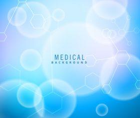 Medical science background design vectors 10