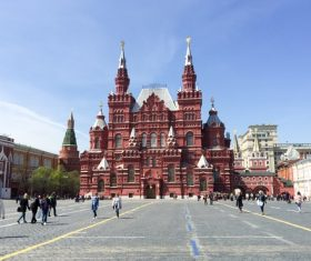 Moscow Red Square Stock Photo 05