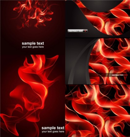 Most flame background vector graphic