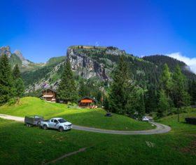 Picturesque Swiss landscape Stock Photo 02