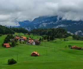 Picturesque Swiss landscape Stock Photo 07