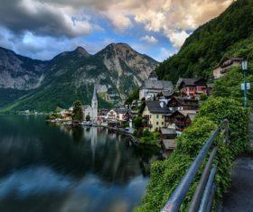 Picturesque Swiss landscape Stock Photo 10