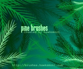 Pine Photoshop Brushes