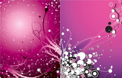 Purple Fashion Design Background Creative Vector Free Download