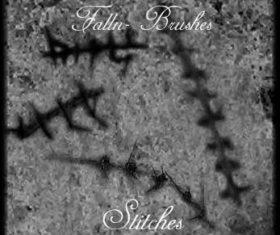 Stitches Photoshop Brushes