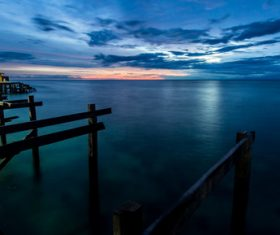 Stock Photo Beautiful sea view of Semporna Malaysia 05
