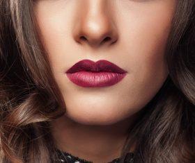 Stock Photo Beautiful womans beautiful eye makeup 01