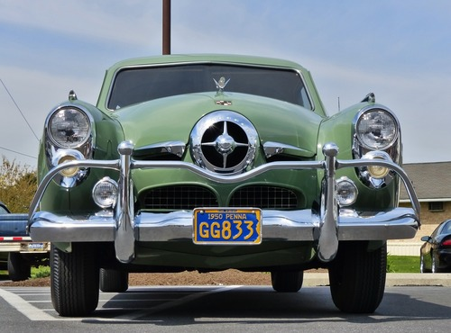 Stock Photo Classic old fashioned car 01