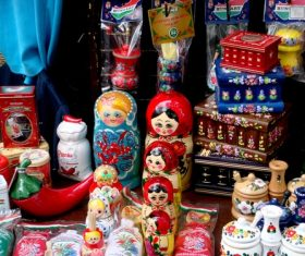 Stock Photo Exquisite and beautiful Russian matryoshka 05