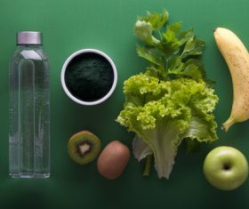 Stock Photo Healthy nutrition vegetables and fruits