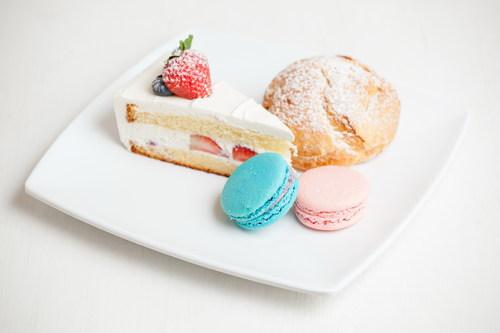 Stock Photo Macaron cake dessert