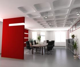 Stock Photo office in firm 03