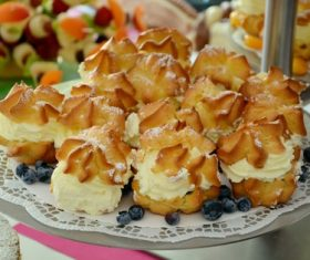 Sweet taste puff Stock Photo 11