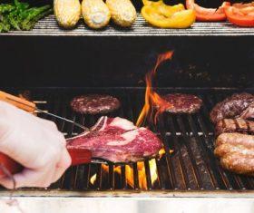 Tasty fragrant steak Stock Photo 04