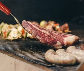 Tasty fragrant steak Stock Photo 06