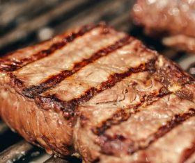 Tasty fragrant steak Stock Photo 07