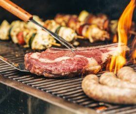 Tasty fragrant steak Stock Photo 10