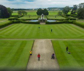 United Kingdom Howard manors scenery Stock Photo 03