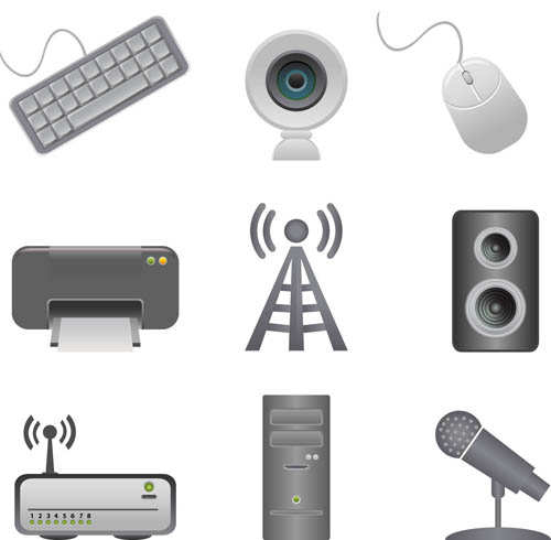 Various Computer Icons 2 vector