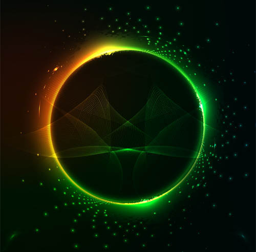 Vector Bright Colorful Backgrounds vector