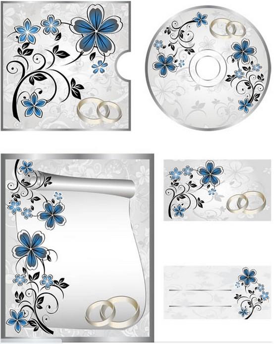 Wedding CD free vector