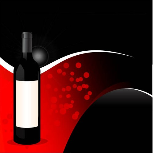 Wine Backgrounds vector graphic