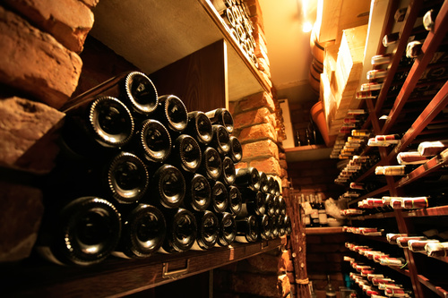 Wine stored in the basement 02