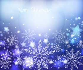Winter cold christmas background vectors set 01