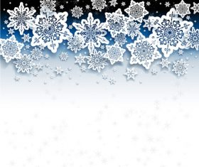 Winter cold christmas background vectors set 04