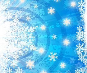 Winter cold christmas background vectors set 05