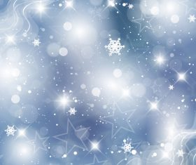 Winter cold christmas background vectors set 08