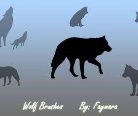 Wolf Photoshop Brushes